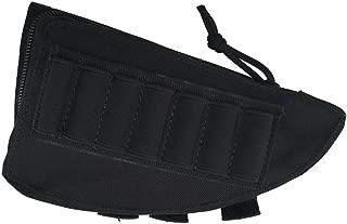 WElinks Outdoor Military Nylon Tactical Hunting Rifle Shotgun Buttstock Shell Bag Cartridge Holder Cheek Rest Pouch Molle