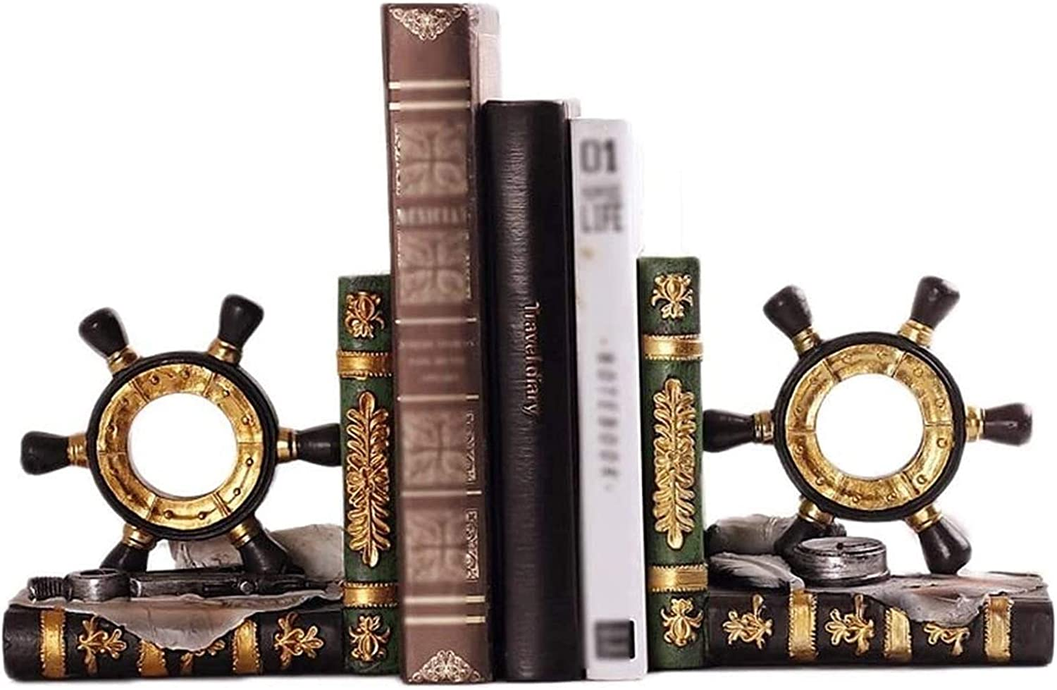 BDBT Sturdy and Well Made Art OFFicial shop Bookends S Book for Max 89% OFF Bookend Ends