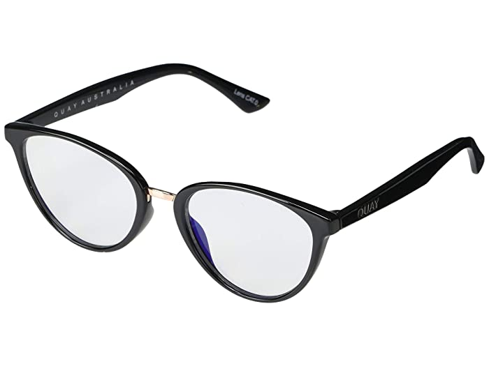Chrissy X Quay Rumours (Black/Clear Blue Light) Fashion Sunglasses