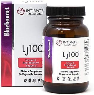 Bluebonnet Nutrition Intimate Essentials LJ100, Soy-Free, Gluten-Free, Non-GMO, Dairy-Free, Kosher Certified, Vegan, 60 Ca...