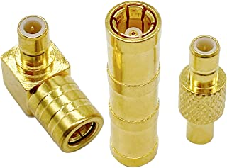Vecys SMB Adapter DAB Antenne Adapter kit 3 types DAB Autoradio Adapter RF Coaxiale DAB Autoradio Kit voor DAB DAB + Radio...