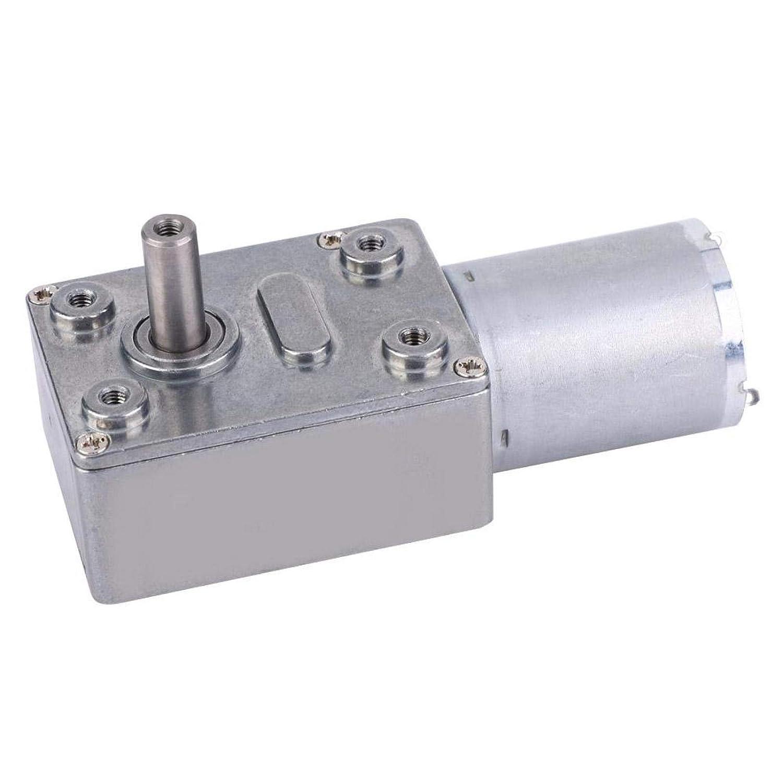 unisex Gear Motor Hollow Output Shaft fo for 6V Soldering Equipment Fishing
