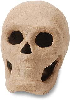 Darice Bulk Buy DIY 3-D Paper Mache Skull 5.5 inch (6-Pack) 2876-35