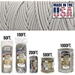 TOUGH-GRID 750lb Paracord/Parachute Cord - Genuine Mil Spec Type IV 750lb Paracord Used by The US Military (MIl-C-5040-H…