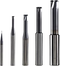 1Pc Carbide Thread End Mill Milling Cutters Single Flute Threading End Mills Cnc Boring Cutter For Metal Working Replace Taps TRS-P0.5-P0.8-H4