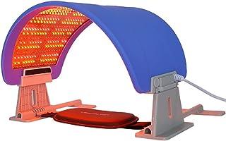 7 kleuren LED-lichtmasker, draagbare foton-acnetherapie Rimpelverwijdering Gezichtsverstevigende apparaat LED-foton Huidve...