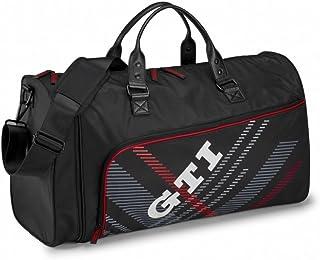 Volkswagen 5KA087318 Freizeittasche Original VW Sporttasche GTI Tasche schwarz Reisetasche