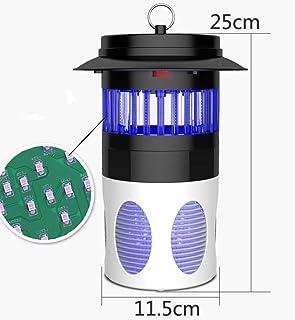 Jieer Lámpara Antimosquitos, Antimosquitos Domésticos, Lámpara Antimosquitos LED Moscas Repelentes de Insectos