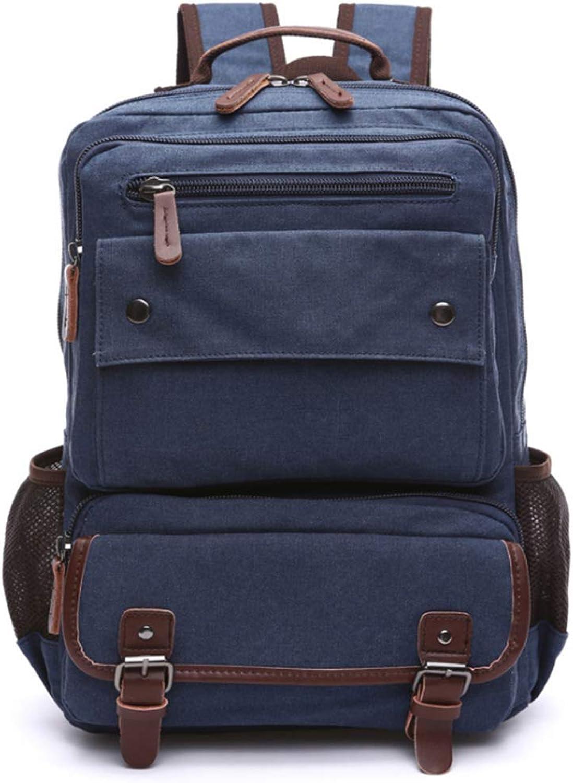 MXJJ Unisex Vintage Rucksack Männer Reisetaschen Leinwand Tasche Laptop Laptop Laptop Rucksäcke Frauen Schultasche für Teenager Rucksack B07Q8TBKDM  Sonderangebot ec81f0