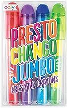 Presto Chango Jumbo Erasable Crayons - Set of 4