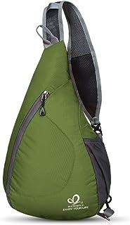 WATERFLY(ウォーターフライ) ワンショルダーバッグ 斜めがけバッグ ボディバッグ 軽量 折り畳み 大容量 メンズ レディース
