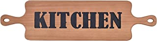 NIKKY HOME Farmhouse Wood Kitchen Sign Plaque Wall Decor, 27.95 x 0.51 x 7.28 Inches, Horizontal