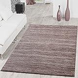 Alfombra moderna Braga, alfombras de pelo corto, de salón, de un color, jaspeado, beige, polipropileno, beige, 160 x 220 cm