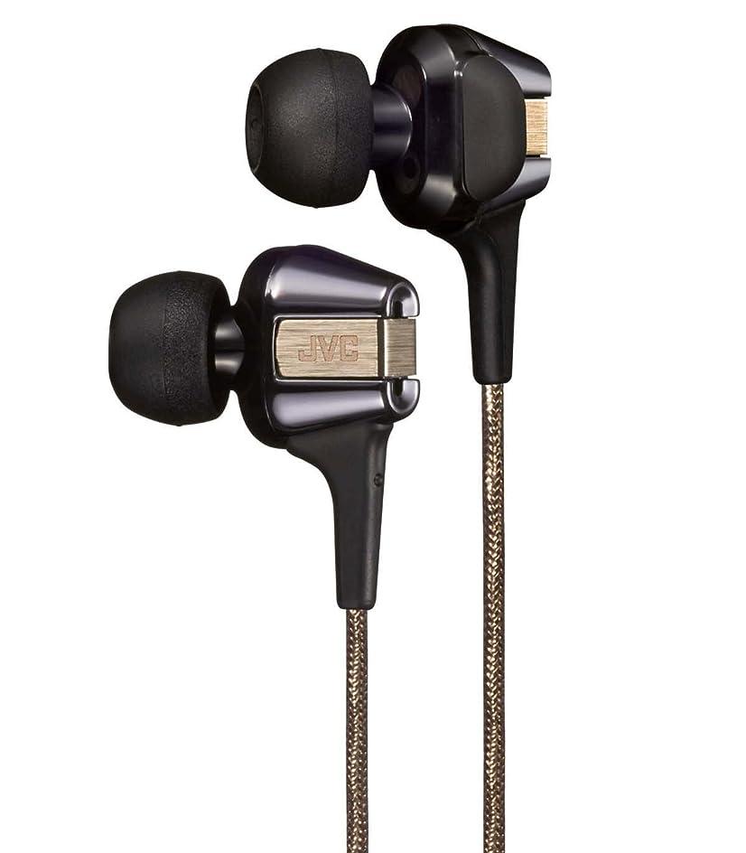 【限定モデル】JVC FXT200LTD カナル型イヤホン Hi-SPEEDツインシステムユニット搭載 ブラック&ゴールド HA-FXT200LTD