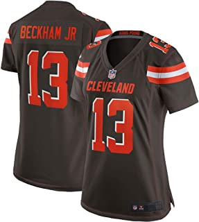 3ce5baed Majestic Athleticc Odell Beckham Jr Women's Cleveland Browns 13# Limited  Stitch Jersey