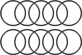 Moligh doll 20x Guarnizioni in gomma nera Guarnizioni O-ring sigillate 5 x 1 x 3mm