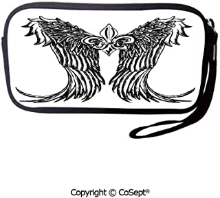 Unisex Coin Purse Ethnic Indigenous Civilizations Orn Stationery Pouch