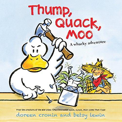 Page de couverture de Thump, Quack, Moo
