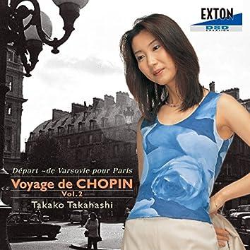Voyage de Chopin II Depart  de Varsovie pour Paris