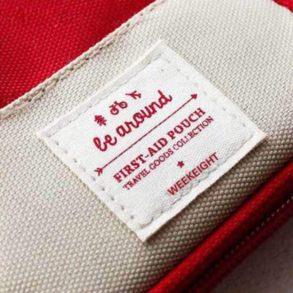 on brand DANDANdianzi Bolso m/édico Supervivencia de la Emergencia En Primer Lugar Aid Kit Bolsa Inicio el Viaje de Camping Bolso del almacenaje del Recorrido
