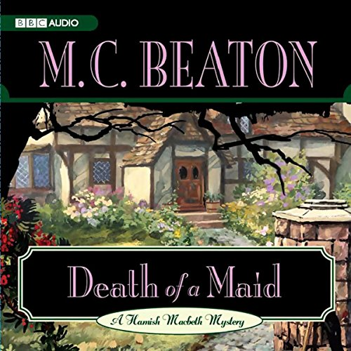 Death of a Maid audiobook cover art
