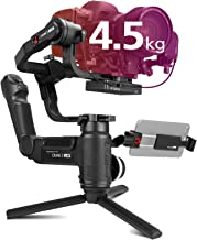 Zhiyun Crane 3 LAB 3-Axis Handheld DSLR Camera Gimbal Stabilizer, 4.5kg Payload Versatile Structure w/Phone Holder Compatible for Sony A9 A7M3 A7R3, Canon 1DX II 6D 5D IV, Panasonic GH4 GH5,Nikon D850