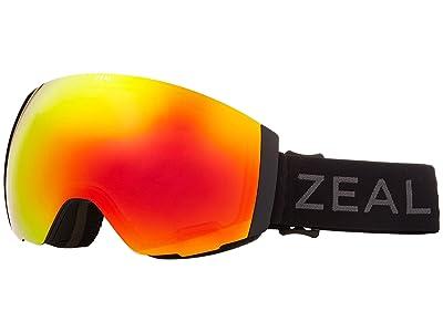 Zeal Optics Portal (Dark Night w/ Phoenix Mirror + Sky Blue Mirror) Snow Goggles