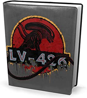 Book Cover 9x11in Acheron LV 426 Xenomorph Alien Jurassic Park -Perfectly Stretchable Washable Practical Reusable No-Slip Supply for Students