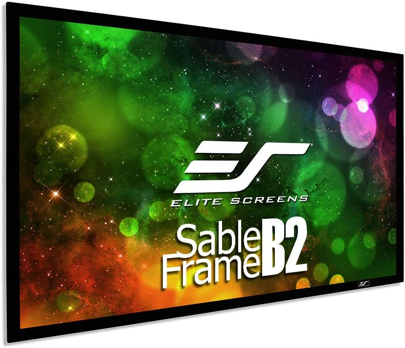 Branded goods Elite Time sale Screens Sable Frame B2 Projector Diagonal 150-INCH Screen