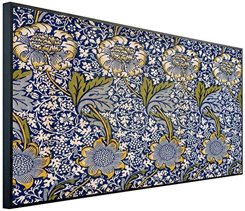 Ecowelle Infrarotheizung mit Bild | 1200 Watt | 120x60x2cm | Infrarot Heizung| | Made in Germany| h 172 Persischer Karpet