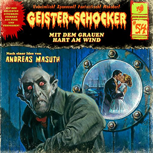 Mit dem Grauen hart am Wind audiobook cover art