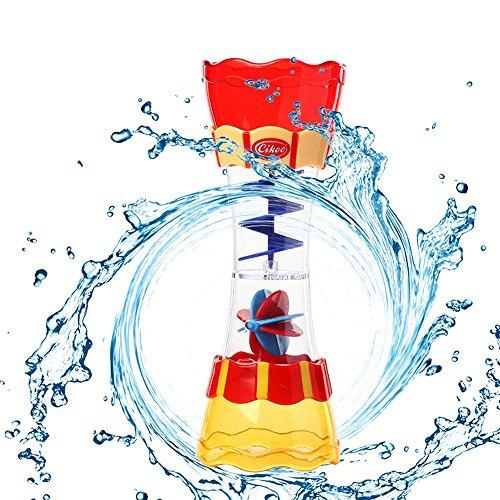 Cebbay-juguetes para niños Regalo del día de los niños Estación de pulverización submarina Baño para niños Juguete Ducha de Mano Bomba de Agua Operada Ducha