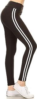 Leggings Depot High Waist Double Lined Solid Yoga Leggings