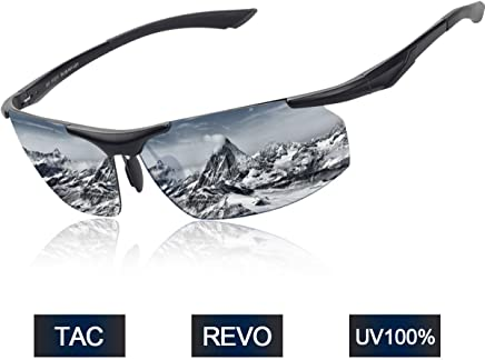 Polarized Sports Sunglasses BUDGET & GOOD for Men Women Unbreakable Frame