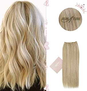 Best halo hair extensions dark blonde Reviews