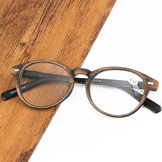 Reading glasses Vintage, ovale HD-bril, herenmode verlichten vermoeidheid, sterk scharnier + lentetempels