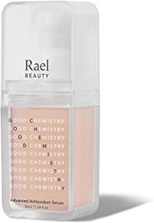 Rael Advanced Antioxidant Facial Serum - Hyaluronic Acid Serum with Healing Green Tea Leaf Extract, Daily Moisture and Pow...