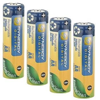 Synergy Digital Camera Battery Works with Nikon COOLPIX B500 Digital Camera  Ni-MH 1.25V 2800 mAh  AA Rechargeable Ultra Hi-Capacity Battery Battery