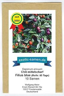 Filus Blue, Filius Blue, hot Chili - Peperoni - 10 Samen