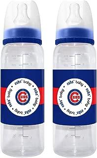 MLB Chicago Cubs Baby Bottles, 2-Pack