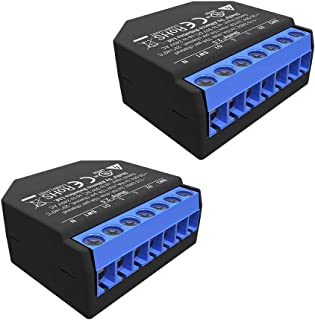 Shelly 2.5Double Relay Switch and Roller Shutter WiFi...