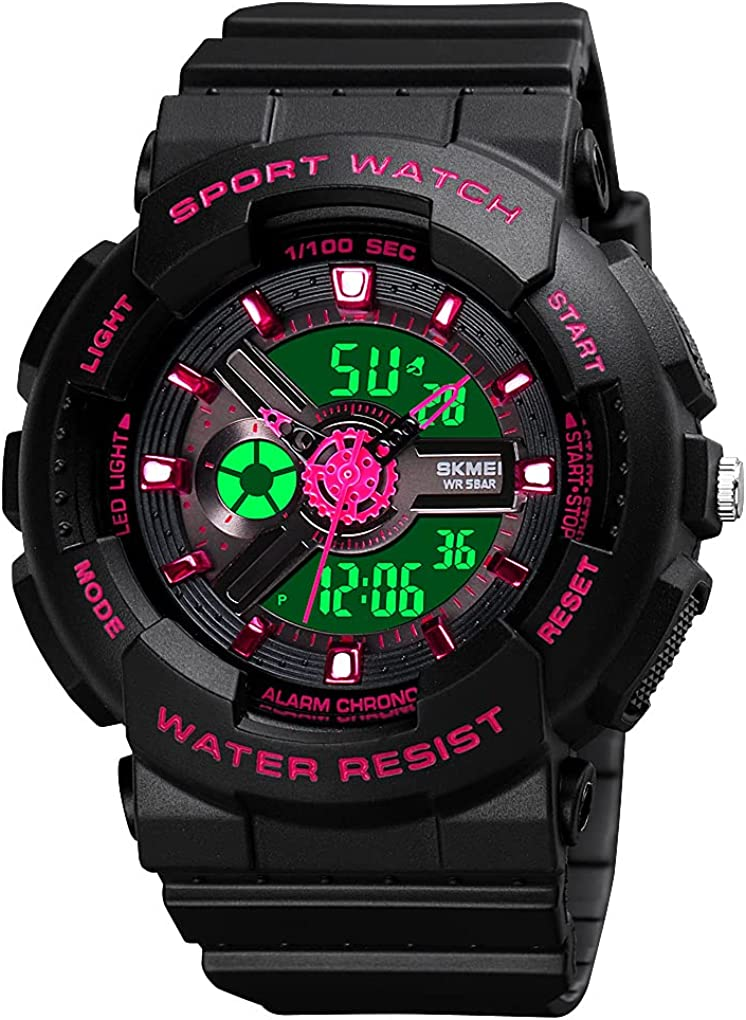 Womens Digital Sports Watch Special price for a limited time Large Outdoor Waterproof Face shop