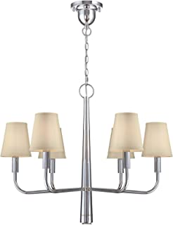 Lite Source LS-19636 Marquise 6-Light Chandelier, Chrome