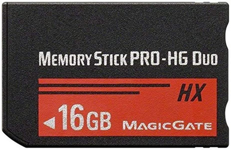 16GB PRO-HG Duo Camera Memory Stick MSHX16A for Sony PSP 1000 2000 3000