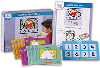 Learn to Read with… Bob Books and VersaTiles - Sight Words Set with 10 Bob Books, Answer Case, and Workbook (Ages 3-6)