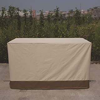 QEES X-Large Patio Furniture Cover, Heavy Duty Waterproof Outdoor Deep Lounge Sofa Cover, Patio Sofa Cover for Patio Furni...