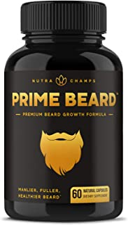 Best natural supplements for facial hair growth Reviews