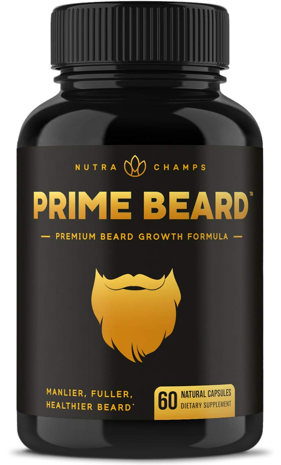 Prime Beard Growth Vitamins Supplement