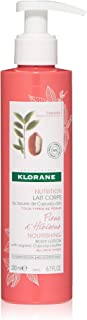 Klorane Hibiscus Flower Body Lotion with Organic Cupuacu Butter, Daily Moisturizing Emollient for All Skin Types, Non-Greasy