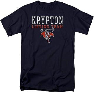 Popfunk Superman Krypton Lifting Team T Shirt & Stickers